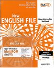 New English File Upper-intermediate Workbook with Key Booklet + MultiROM