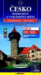 Česko 1: 500 000 - Rozhledny a vyhlídková místa