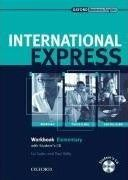International Express elementary Workbook + audio students CD Interactive Edition