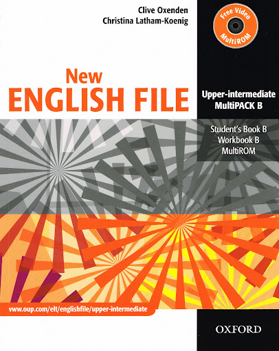 New English File Upper-intermediate Multipack B + CD-ROM - Oxenden C., Latham-Koenig Ch. - A4, brožovaná, Sleva 30%