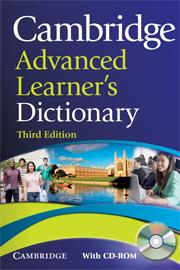 Cambridge Advanced Learners Dictionary + CD-ROM