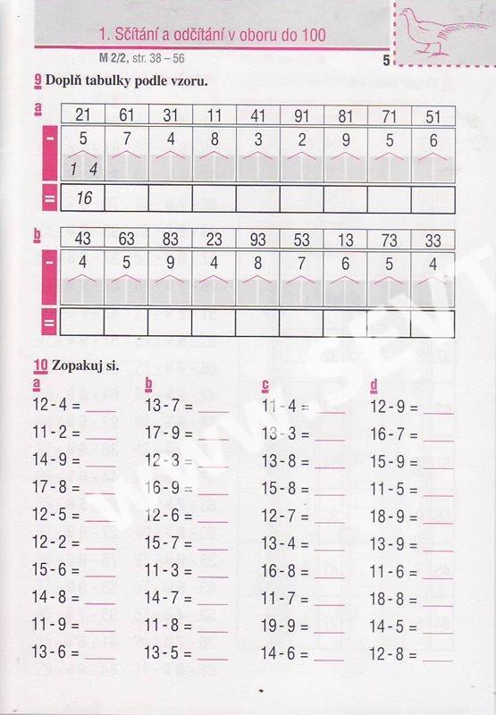 bcfd07d3d2b Matematické minutovky pro 2. ročník 2. díl - Molnár J.
