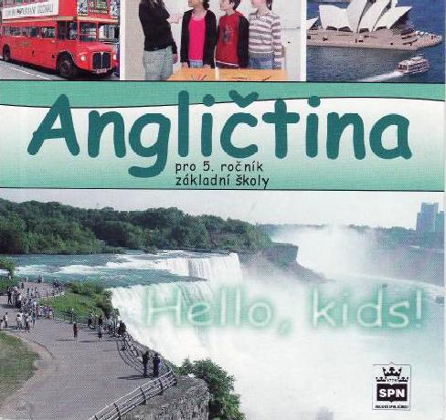 Angličtina 5.r. Hello, kids! - audio CD - Zahálková M.