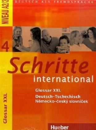 Schritte international 4 Kursbuch + Arbeitsbuch + audio CD + Glossar - A4, brožovaná
