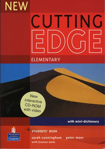 New Cutting Edge elementary Students Book + CD-ROM - Cunningham S., Moor P., Eales F. - A5, brožovaná