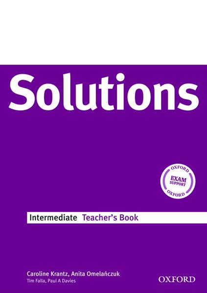 Maturita Solutions Intermediate Teachers Book - Krantz C., Omelańcyuk A. - A4, brožovaná