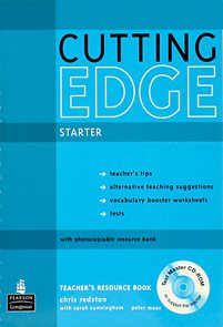 Cutting Edge starter Teachers Resource Book + CD-ROM