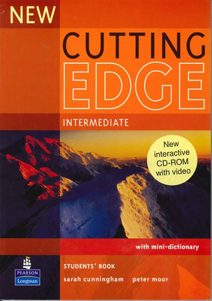 New Cutting Edge intermediate Students Book + CD-ROM - Cunningham S., Moor P. - A4, brožovaná