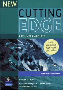 New Cutting Edge pre-intermediate Students Book + CD-ROM