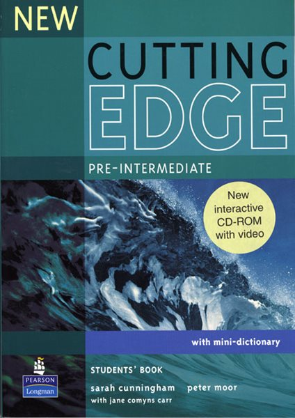 New Cutting Edge pre-intermediate Students Book + CD-ROM - Cunningham S., Moor P. - A4, brožovaná