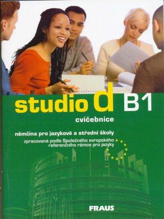 Studio d B1 němčina pro jazykové a střední školy - cvičebnice - Niemann Maria Rita - A4, sešit
