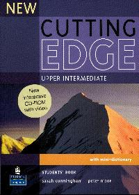 New Cutting Edge upper-intermediate Students Book + CD-ROM - Cunningham S., Moor P. - A4, brožovaná