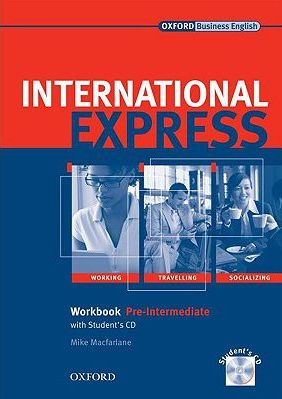 International Express pre-intermediate Workbook with Students CD Interactive EDITION - Macfarlane Mike - A4, sešitová