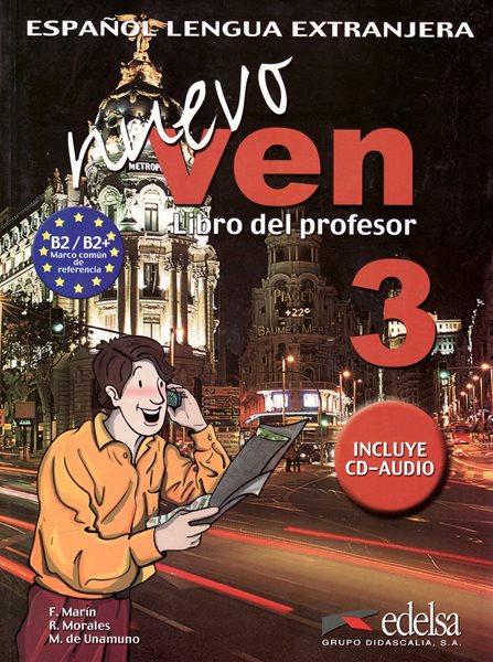 Nuevo Ven 3 - Libro del profesor + CD - Marín, Morales, De Unamuno, Sleva 25%