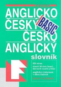 Anglicko - český a česko - anglický slovník BASIC