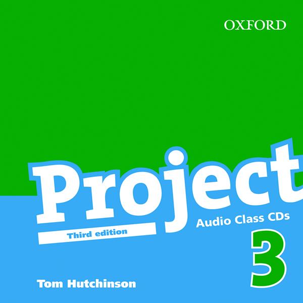 Project 3 - Třetí vydání - audio class CDs - Hutchinson Tom
