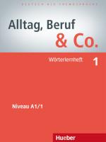 Alltag, Beruf & Co. - Wrterlernheft 1