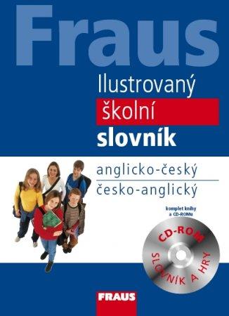 Anglicko-český a česko-anglický ilustrovaný školní slovník + CD-ROM - 178x248 mm, vázaná