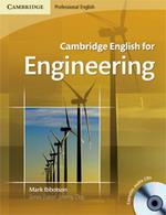 Cambridge English for Engineering + audio CDs /2 ks/