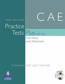 CAE Practice Tests Plus with Key + CD-ROM NEW EDITION