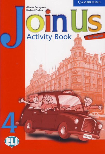 Join Us for English 4 Activity Book - Gerngross G., Puchta H. - A4