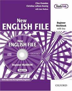New English File beginner Workbook with key + MultiROM