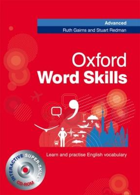 Oxford Word Skills Advanced - Student´s Pack ( Book + CD-ROM) - Gairns R., Redman S. - 190x264 mm, brožovaná, Sleva 15%