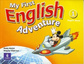 My First English Adventure 1 -  Pupils Book