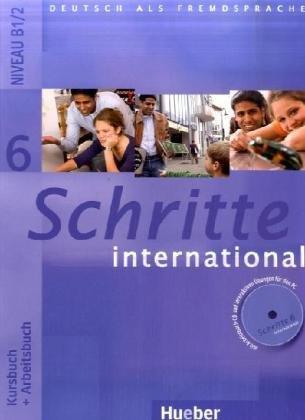 Schritte international 6 Kursbuch + Arbeitsbuch + Glossar + CD-ROM - A4, brožovaná