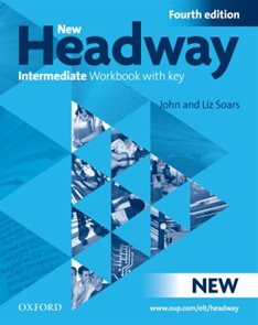New Headway Intermediate Fourth Edition Workbook with key + iChecker