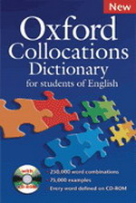 Oxford Collocations Dictionary for students of English NEW + CD-ROM