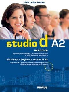Studio d A2 němčina pro JŠ a SŠ - učebnice + CD - Funk, Kuhn, Demme - A4, brožovaná