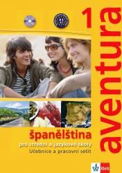Aventura 1 - Španělština pro střední a jazykové školy - učebnice a pracovní sešit + CD /2 ks/