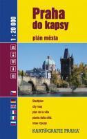 Praha do kapsy - plán města 1: 20 000 - 99x155 mm, brožovaná, Sleva 25%