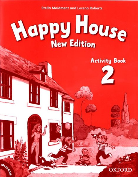 Happy House 2 Activity Book + MultiROM NEW EDITION (pracovní sešit) - Maidment Stella, Roberts Lorena - 218x275 mm, sešitová