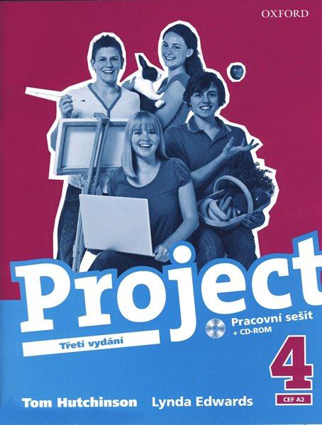 Project 4 - pracovní sešit + CD-ROM /Třetí vydání/ - Hutchinson Tom - 218x275, brožovaná