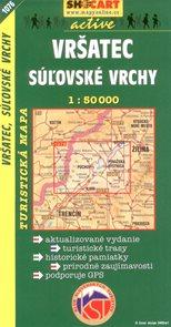 Vršatec,Súlovské vrchy - mapa SHc1076 - 1:50 000