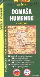 Domaša,Humenné - mapa SHc1115 - 1:50 000