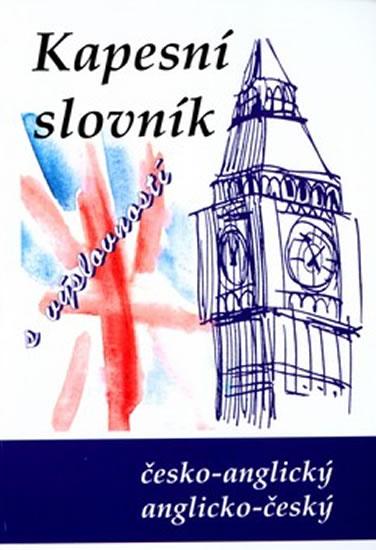Anglicko-český a česko-anglický kapesní slovník - Kučera Jiří - 110x152 mm, vázaná, Sleva 75%