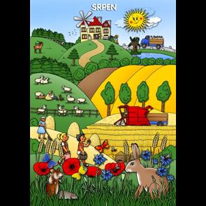 Srpen - tematický obraz