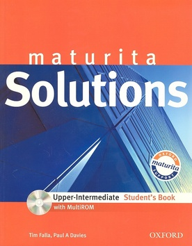 Maturita Solutions Upper-Intermediate Students Book + MultiROM - Falla T., Davies A. P. - A4, brožovaná