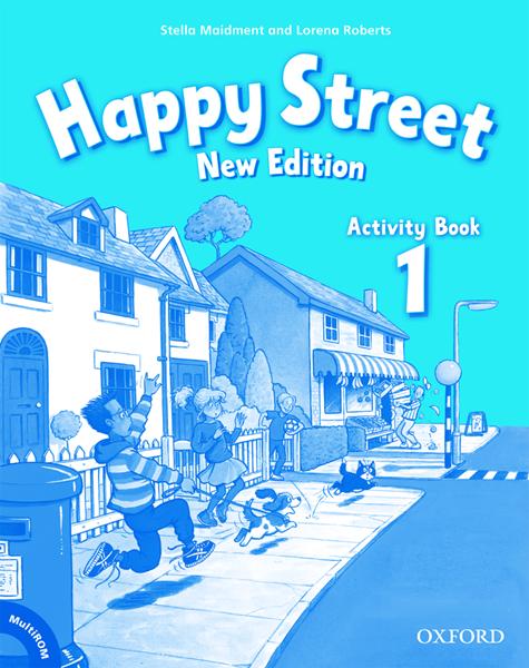 Happy Street 1 NEW EDITION Activity Book + MultiROM mezinárodní verze - Maidment S., Roberts L. - A4, sešitová