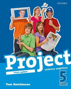 Project 5 - Třetí vydání - učebnice - Hutchinson Tom - A4, brožovaná