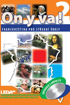 On y va! 2 Francouzština pro SŠ - učebnice + audio CD - 180 x 250 x 15 mm, brožovaná