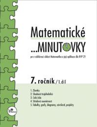 Matematické minutovky pro 7. ročník 1. díl
