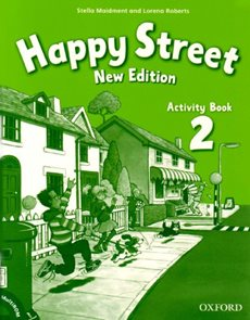 Happy Street 2 NEW EDITION Activity Book + MultiROM