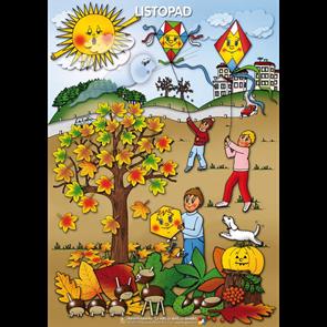 Listopad, tématický obraz