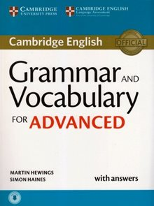 Grammar and Vocabulary for Advanced Book w. Answers
