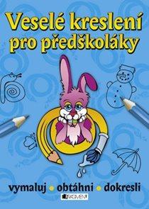 Veselé kreslení pro předškoláky - modrá