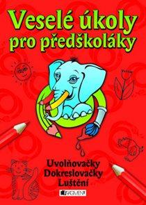 Veselé úkoly pro předškoláky - červená